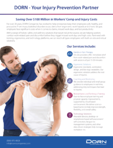 Saving Over $100 Million in Workers' Comp and Injury Costs